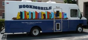 Photograph of the bookmobile
