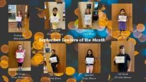 Leaders of the Month