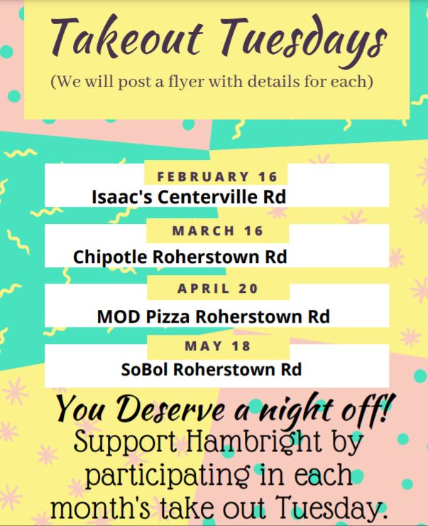Takeout Flyer